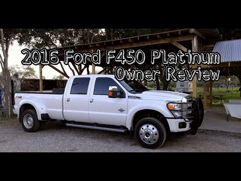 2016 Ford F450 Platinum Owner Review