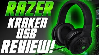 Razer Kraken USB Headset Review and Unboxing - PS4 Compatible Razer Headset