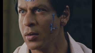 shahrukh shows his million dollar stunt raone