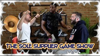 THE SOLE SUPPLIER GAME SHOW | GEORGE VS CHRIS, WHO HAS THE BETTER SNEAKER KNOWLEDGE?