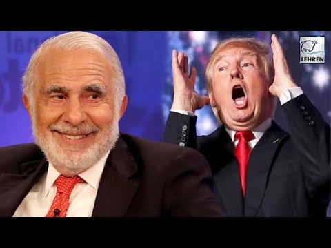 "Billionaire Carl Icahn Quits From The Position Of Donald Trump's ""Special Advisor"" 