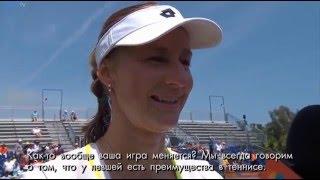 MAKAROVA INTERVIEW: WTA MIAMI 2016 3R