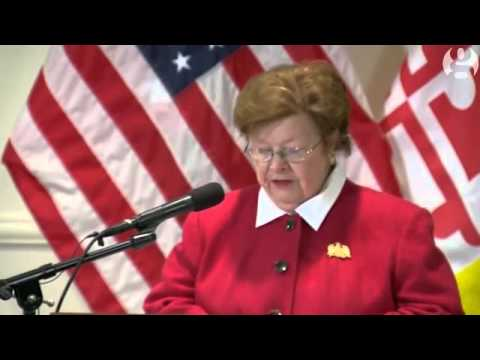 Maryland senator Barbara Mikulski to leave Congress after 2016 - video