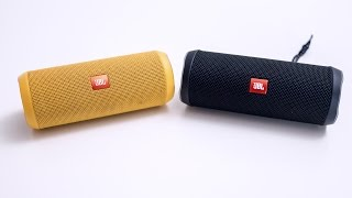 JBL Flip 3 vs JBL Flip 4 - first look