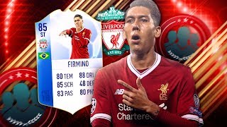 FIFA 18: TOTGS FIRMINO SQUAD BUILDER BATTLE vs STEINI