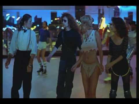 Dorothy Stratten Roller Skating