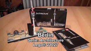 LEGO Berlin Skyline 21027 Review (Architecture Set Test deutsch)
