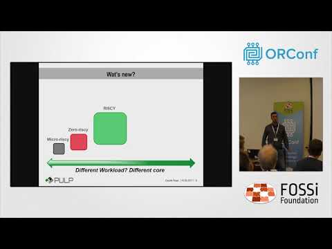 PULP: an Open Source Parallel Computing Platform - ORConf 2017