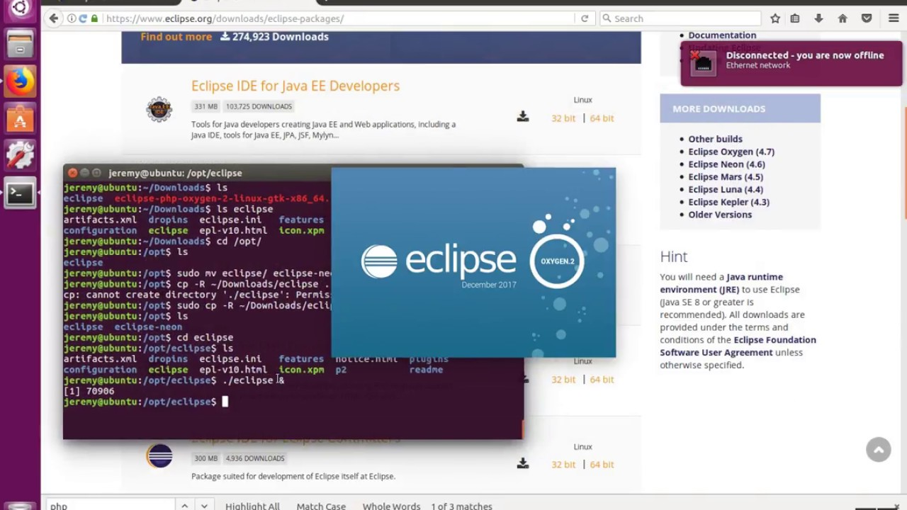 How to Install Eclipse Oxygen on Linux