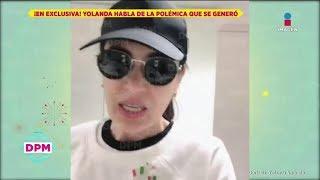 EXCLUSIVA: ¡Yolanda Andrade envía mensaje a Gustavo Adolfo por fotos de su boda con Verónica Castro!