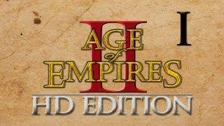 Прохождение Age of Empires II HD #1 - Спаси нас, Жанна! [Нежданный мессия]