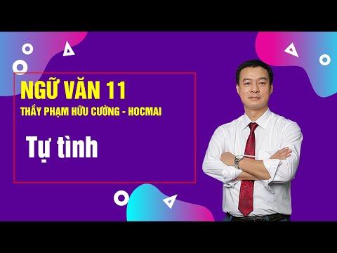 Tự tình – Lớp 11 – Thầy Phạm Hữu Cường – Cơ bản 11