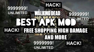 HACK THE WALKING DEAD NO MAN'S LAND V2.4.091 2017 FREE SHOPPING, HIGH DAMAGE AND MORE