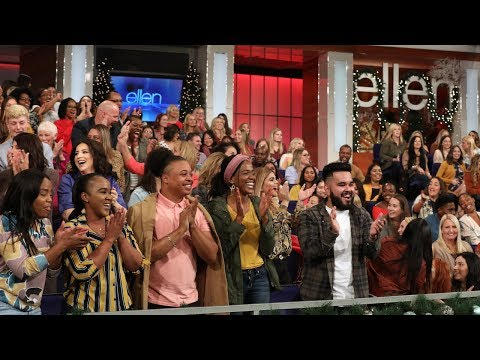 Ellen's Audience Is Left Stunned in This 12 Days Game