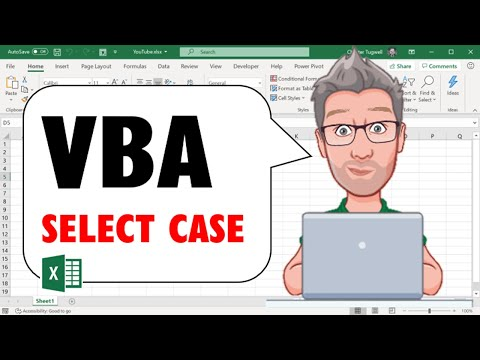 Excel VBA Select Case Structure Example