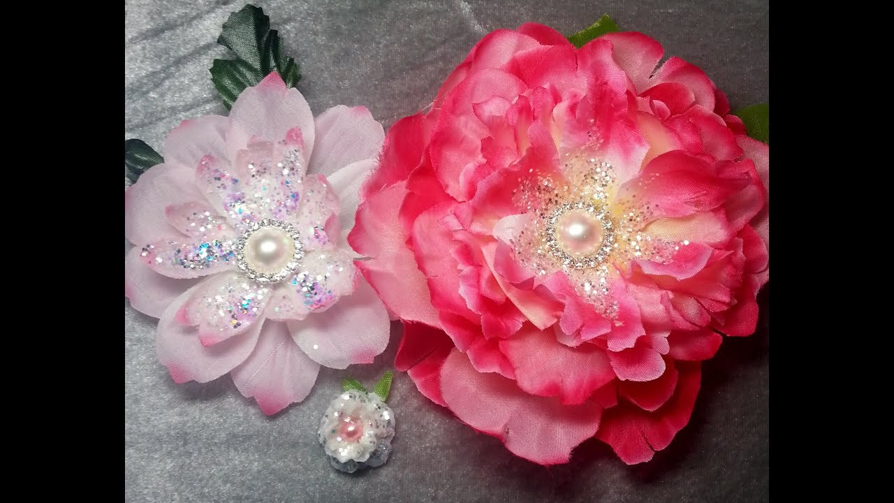 Diygorgeous Flowers For Craft Projects From Cheap Dt Flowers