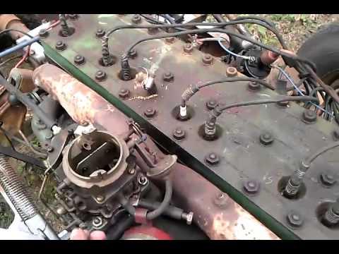 1948 Packard straight 8 288 cid model 2262