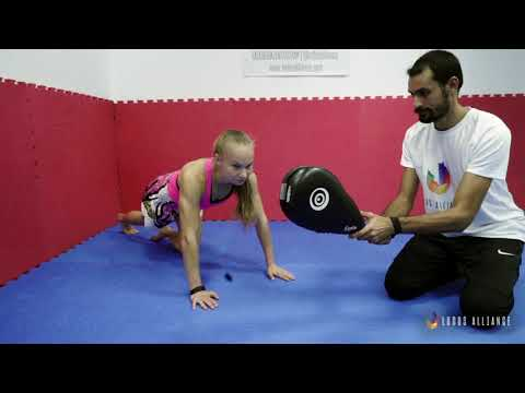 Ludus Alliance - Training Center | Explosive Push Up to Jab - Explosive Power (Kickboxing)