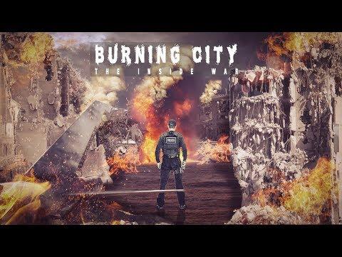 Photoshop tutorial | Burning city photo manipulation and fire effect