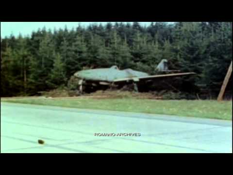 1945 Me-262 Jet Fighters on the German Highway