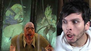 NUEVOS EXPERIMENTOS DEL CARNICERO !! FINAL ÉPICO - Mr Meat (Horror Game)