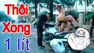 Police vs Biker !!!!
