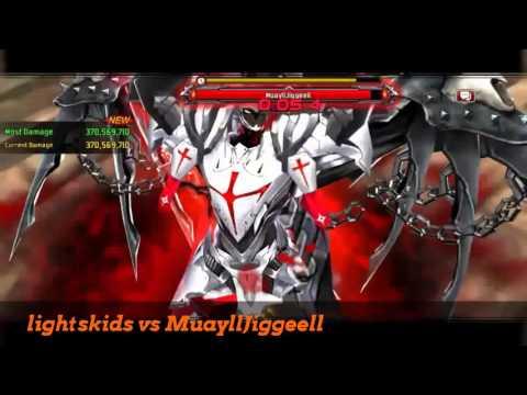 Kritika the White Knights | Android | Versus Eclair World Boss MuayllJiggeell | May 2016