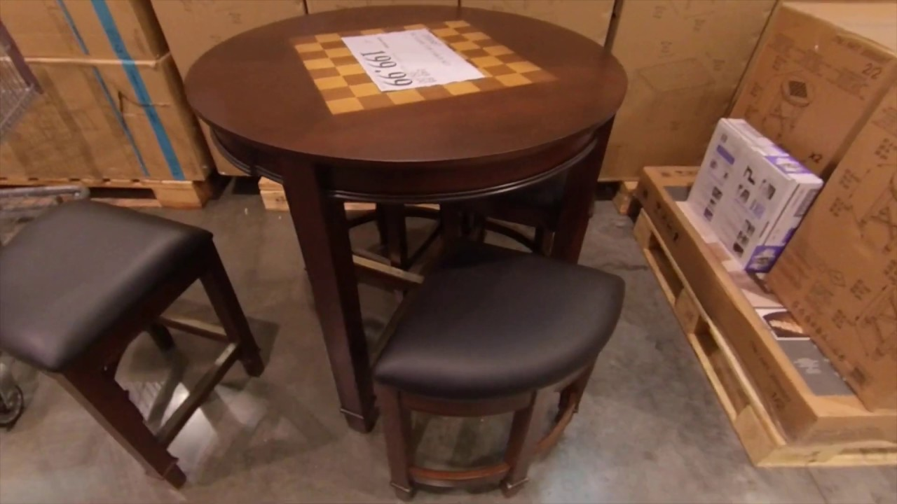At Costco Five Piece Gaming Table 199 99