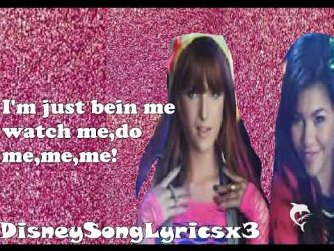 Shake it up-Watch me(Bella Thorne and Zendaya)(lyrics)