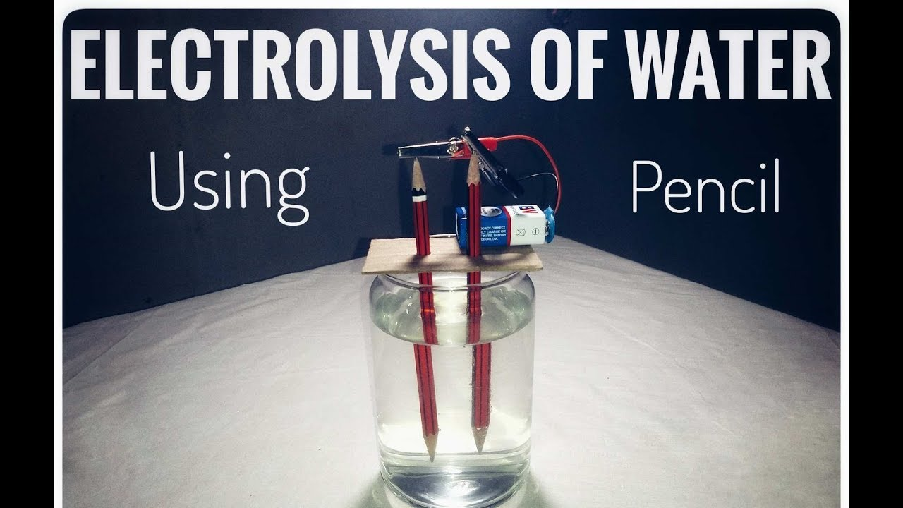 electrolysis of water a simple experiment