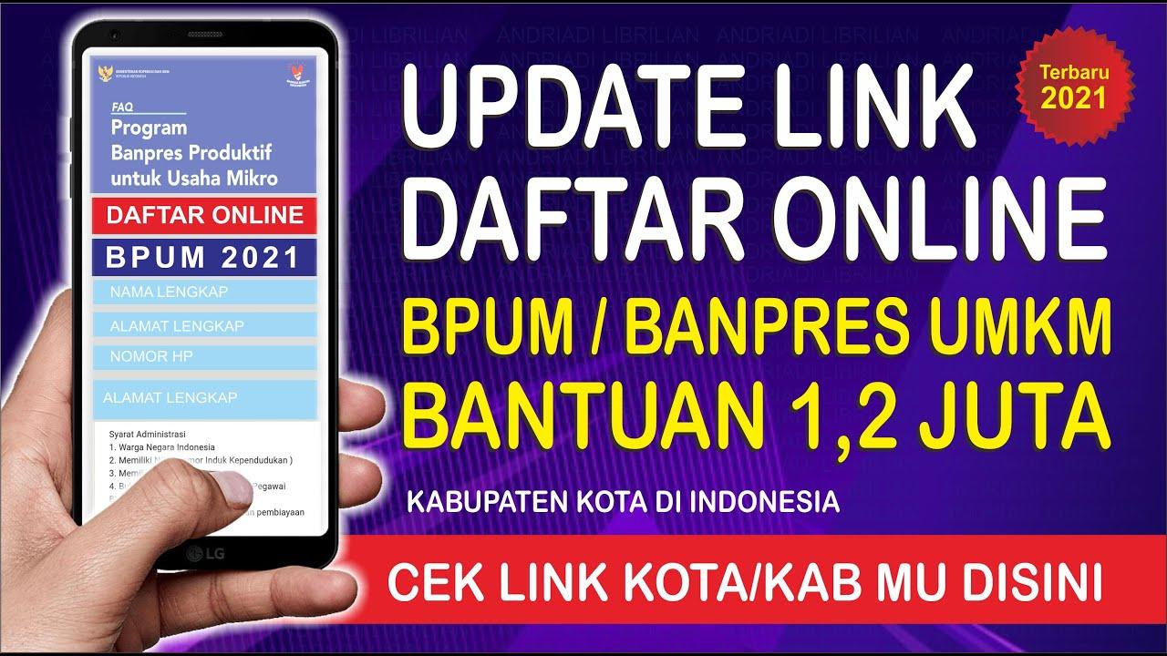 Download CARA DAFTAR BPUM 2021 ONLINE