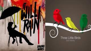 3 Little Birds Vs It Will Rain Mashup