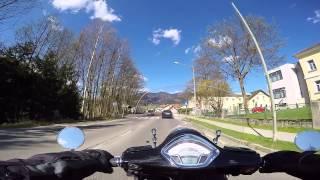 2015-04-21 Alpl - Höllental 7/12 - Vespa GTS 300ie ABS 2014 - GoPro Hero4 Black - 60 fps