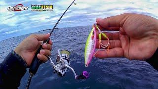 Ultra Light Jigging 1-3lb || Micro Jig 40gr UV Ft. Cangkek 1-3lb - Kepulauan Derawan - Berau
