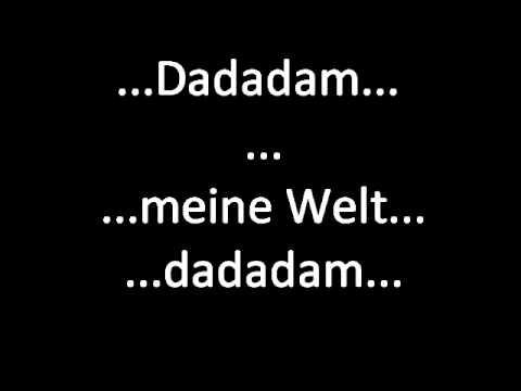 .:Meine Welt - Peter Heppner:. ~Lyrics~