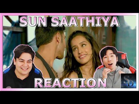 Sun Saathiya REACTION!!!   Disney's ABCD 2   Varun Dhawan , Shraddha Kapoor   Sachin Jigar   Priya S