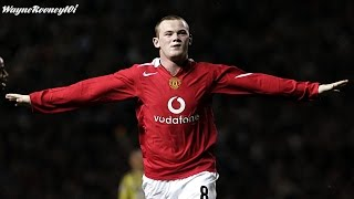 Wayne Rooney All Goals Part 1 2004-05 HD 720p English Commentary
