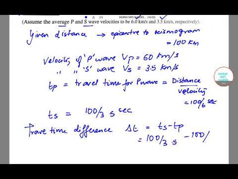 GATE GEOLOGY AND GEOPHYSICS 2017 SEC-A PART 2 Q9,10,12,17,18,22,29,30 YEAR SOLVE,COMPLETE SOLUTION