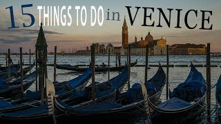 15 Things to do in Venice! ☼ Family Travel in Italy