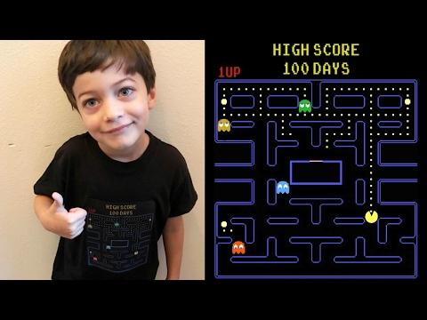 Pac-Man 100 Days Of School Shirt!   DITL 1.30.17 #GoTeamHale #KyleandCourt