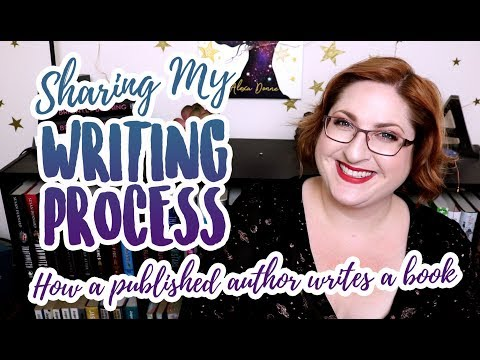 How I Write Books (A published author's imperfect process)