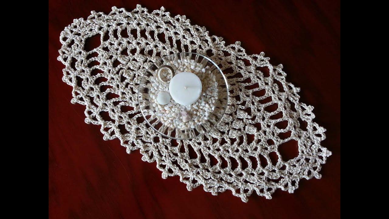 Как связать салфетку крючком сестра невесты видео
