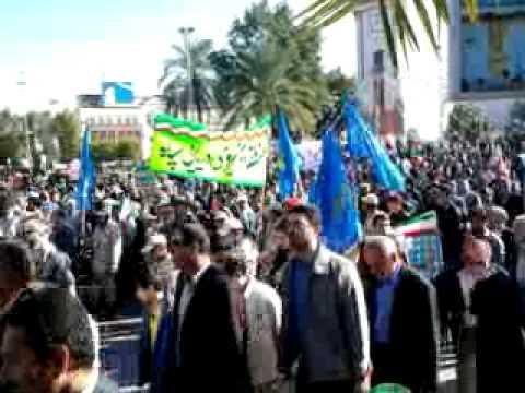 Iran's Rally to mark  the 35th Anniversary ot the 1979 Islamic Revolution