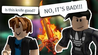 ROBLOX PLAYERS SCAM A NOOB (Assassin)