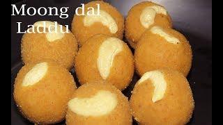 పెసరపప్పుతో ఇలా లడ్డు చేయండి కమ్మగా ఉంటుంది-Moong dal Laddu Recipe in Telugu-Pesara Pappu Recipes