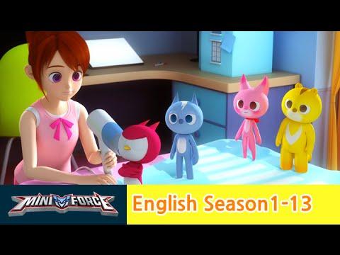 [English ver.dub ]MINIFORCE Season1 Ep13:Sammy's Betrayal