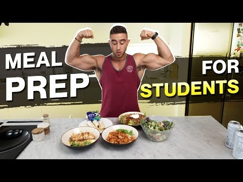 Meal Prep For Students | Muscle Gain AND Fat Loss Meals | Zac Perna