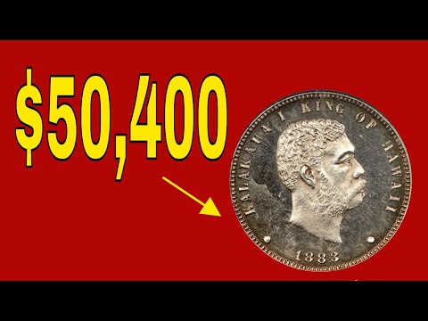Coins Worth Huge Money!  Hawaii Coins You Should Know About!