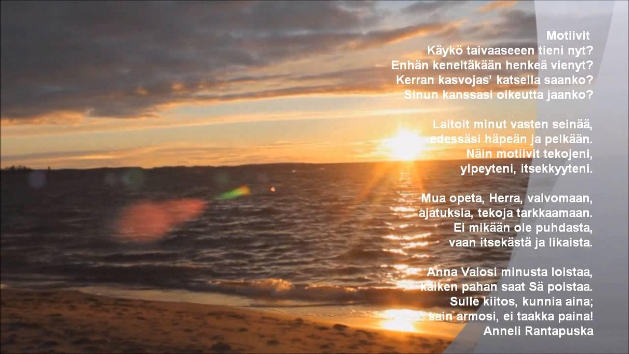 kevät runoja eino leino Suonenjoki
