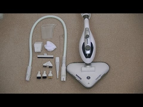 Hoover S2IN1300CA Steamjet 2 in 1 Steam Cleaner Unboxing & F